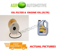 DIESEL OIL FILTER + LL 5W30 ENGINE OIL FOR NISSAN ALMERA 2.2 110 BHP 2000-03