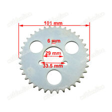 T8F 38 Tooth Rear Sprocket For 43cc 49cc Gas Electric Minimoto Goped Scooters