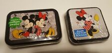 5X Disney Mickey Minnie Mouse Collector Series #6 & 4- COTTON SWABS & ROUNDS