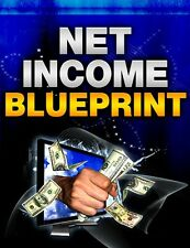 NET INCOME BLUEPRINT! eBOOK FULL RESALE RIGHTS PDF-  Free Shipment