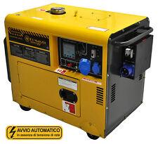 Generatore di corrente 4,5 KW- silenziato-ATS