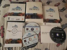 Playstation 2 PS2 FINAL FANTASY XI Online  Complete