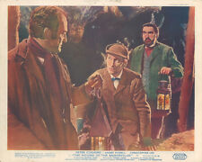 Hound of the Baskervilles Hammer horror original lobby card Peter Cushing