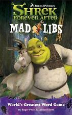 Mad libs lot of 5 Shrek, Flushed Away,  Napoleon Dynamite, Upside Down
