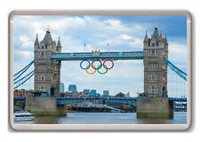 LONDON 2012 BRIDGE OLYMPICS FRIDGE MAGNET SOUVENIR