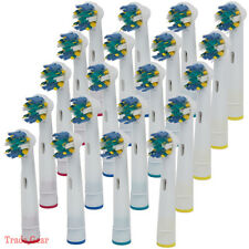 20 pcs Toothbrush Heads Replacement for braun Oral-B FLOSS ACTION FREE SHIP NEW