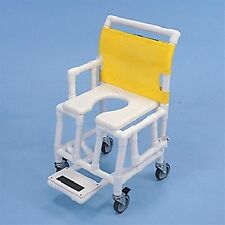 HEALTHLINE  - #ST603OFT5SF  SHOWER AND COMMODE CHAIR SOFT SEAT FOOTREST DROP ARM