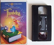 THUMBELINA ~ Animated Family Entertainment VIDEO 1994 VHS Clamshell