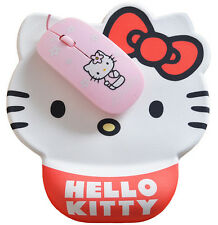 New Cute Hello Kitty Durable Mouse Pad Thin Comfort Wrist Mat Mice Pad
