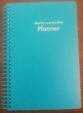 Light Blue ~ Weekly Daily Monthly Planner ~ Appointment Book ~ Student Planner