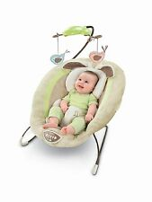 FISHER PRICE BOUNCER SEAT MY LITTLE SNUGABUNNY Newborn Infant Baby Music Vibrate