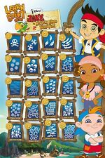 Jake and the Neverland Pirates - Learn to count POSTER 61x91cm NEW
