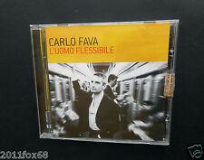 cds cd carlo fava l'uomo flessibile sotto il quadro di chaplin cofani e portiere