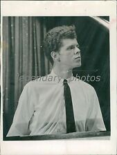 1958 Pianist Van Cliburn at the Piano Original News Service Photo