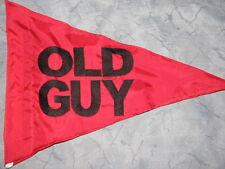 Custom Triangle OLD GUY Safety Flag  4 ATV bike trike Jeep Dune Whip Pole