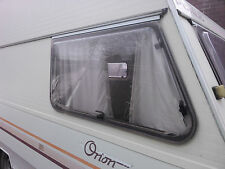 80's Avondale Perle Caravan Offside Front Tapered Window