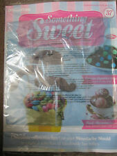 DEAGOSTINI SOMETHING SWEET MAGAZINE ISSUE 37 - WITH 3 STYLES MOUSTACHE MOULD