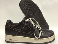 Size 11 Men's Nike Air Force 1 Premium Leather Baroque Brown/Net 309096-211 Used