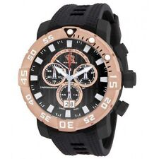@NEW Invicta Sea Base Limited Edition Swiss Made Titanium Quartz 14256 Rubber