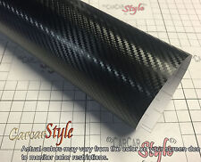 【3D CARBON FIBER Black】Wrap Vinyl Film 3m(118in)x1.52m(59.8in)for roof, boots