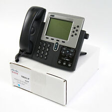 Cisco CP-7960G 7960 SCCP VoIP IP Telephone Phone PoE - Quality Refurbished