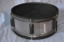 """Laurin Snare (12"""" mesh pad) for Roland/Alesis electronic drum - Grey Grill look"""