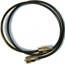 RG8X 50 Ohm Coaxial Patch Lead 'Mini 8' Low Loss 3FT 1M