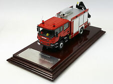 1:43 SCANIA Rescue Vehicle Fire Truck model Resin meterial Limited Edition