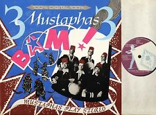 3 MUSTAPHAS 3 bam mustaphas play stereo FEZ 001 europe globe style 1985 LP EX-