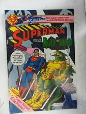 1 x Comic  Superman Batman  Nr.9  mit Sammel Ecke  (Apr 1982)    Z. 1-2