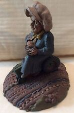 """Tom Clark Gnome  ~ """"FLORA""""  ~ #5078 ~ 6"""" Tall RIDING ON TRACTOR"""