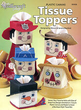 Tissue Toppers plastic canvas patterns OOP new rare