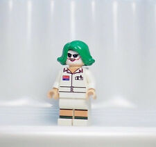 A1137 Lego CUSTOM PRINTED Batman 3 Game Dark Knight Inspired NURSE JOKER MINIFIG