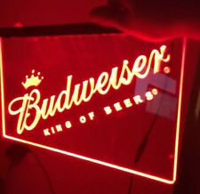 NEW BUDWEISER LED Neon Sign for Game Room,Office,Bar,Man Cave, Decor
