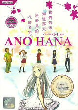 Anohana: The Flower We Saw That Day (TV 1 - 11 End) DVD + FREE DVD
