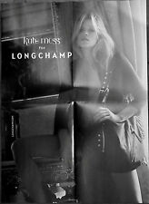 Original POSTER: KATE MOSS for LONGCHAMP S/2010 shot by DAVID SIMS A2 Size @MINT