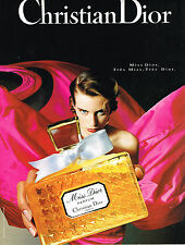 PUBLICITE ADVERTISING 0314   1992   DIOR parfum femme Miss