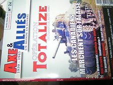 ¤¤ Axe & Alliés n°24 Operation Totalize Falaise Amiral K.Donitz STUKA
