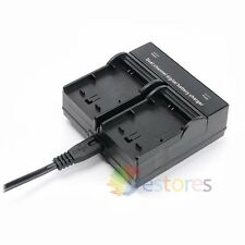 AC 100-240V Dual Channel NP-FW50 Battery Charger Quick Charging For Sony Camera