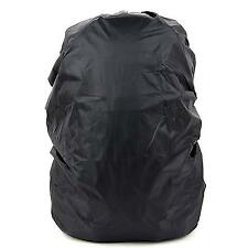 Outdoor Black Nylon Waterproof Rainproof Backpack Bag Cover for Hiking Camping
