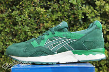 ASICS GEL LYTE V 5 SZ 12 SOUR APPLE DARK GREEN H5T1L 8080