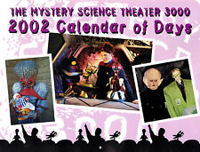 New: MYSTERY SCIENCE THEATER 3000 (MST3K) 2002 Calendar of Days