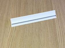 2 Blanco 5mm coving 2,6 m Pared Panel Pvc Cocina Baño Plástico revestimiento Cornisa