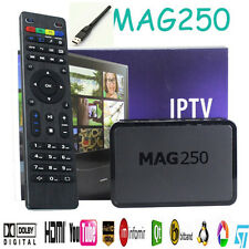 MAG 250 IPTV HDTV HDMI STREAMING DECODER HD TV BOX MEDIA PLAYER USB WiFi ADAPTER
