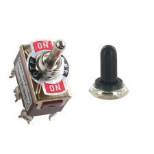 Heavy Duty 20A 125V DPDT 6Pin On/Off/On Rocker Toggle Switch Latching Knob Sales