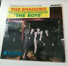 THE SHADOWS, 'THE BOYS', ORIGINAL UK EP, Mono,1962, (Columbia - SEG8193)