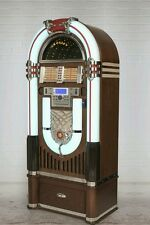 New LED color shifting Bluetooth ready Crosley  jukebox with CD player radio