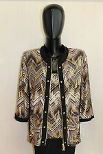 Lagerverkauf Joseph Ribkoff Set Top+Blazer Gr 48  Model 24551