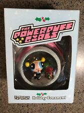 Bubbles Powerpuff Girls 2000 Christmas Holiday Ornament Cartoon Network NEW!