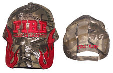 Fireman Fire Fighter Department Baseball Caps Hats Embroidered  (E7501F14 )